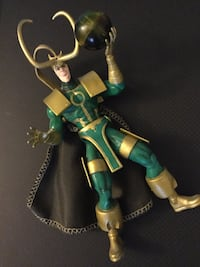 Loki  posable collectable character / Marvel Comics  Loki Alexandria, 22311