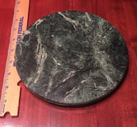 "Natural Green Marble Trivet, Cheese Board 8"" Huntsville, 35806"