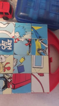 Cat in the hat amazing puzzle. 6 puzzles I one. Educational toy. Vaughan, L4J 5L7