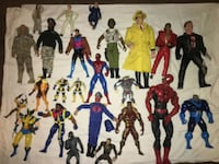 Action figures over 20 years old.  My son now 33 1152 mi