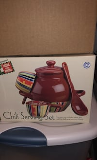 Chili serving set! (New) Purcellville, 20132