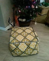 Soft ottoman chair removable cover Odessa