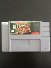 Donkey Kong Country SNES game Vaughan, L4L