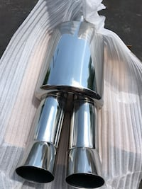 two stainless steel exhaust pipes Whitchurch-Stouffville, L4A 0J8