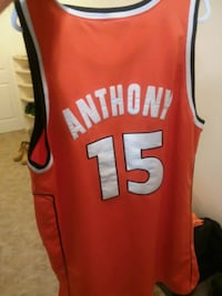 Vintage stiched Caemelo Anthony Jersey Frederick, 21703