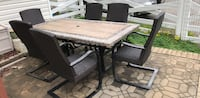 outdoor dining set table and  6 chairs Lorton, 22079