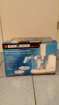 New!! Black and Decker Food Processor