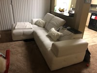 White leather tufted sofa set Capitol Heights, 20743