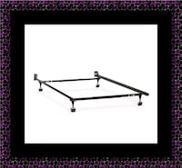 Metal frame rails full twin Queen $40 King $70 East Riverdale