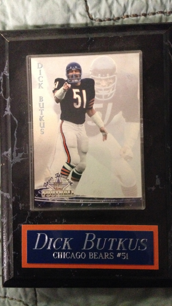 Think, that butkus card dick jersey remarkable