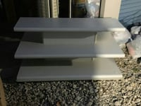 Free Delivery. 3 Tiered Shelving Unit. 2 pcs.