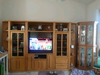 Large entertainment center Andover, 55304