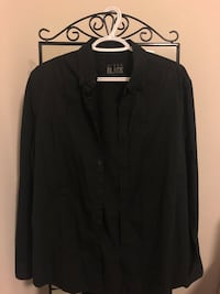 NEW Urban Black Men's Dress Shirt Markham, L3R