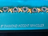 New 8 inch diamond accent bracelet from Boscovs. Falling Waters, 25419