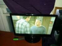"23"" LG Led Tv with remote."