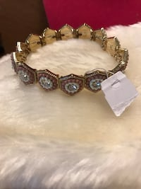 Pretty ! Tan and Crystal Bracelet Gainesville, 20155