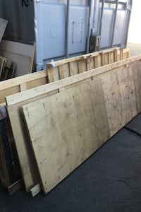 Wood and pallets