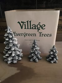 Department 56 evergreen trees Orchard Park, 14127