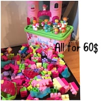 Toddler's assorted color plastic toys London, N6B