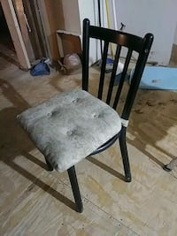 black and gray metal chair Fairfax, 22032