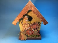New birdhouse, 8 inches tall, wood Delray Beach, 33484