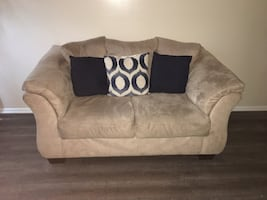 Tan / Beige Sofa Set