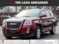 2011 gmc terrain with 245,222km and 100% approved financing