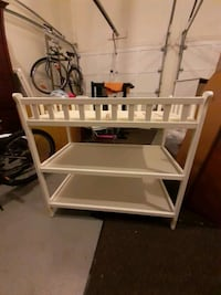 Changing Table with Pad and 2 Shelves Allentown, 18104
