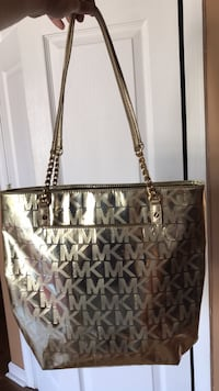 Gold michael kors tote bag Columbia, 21046