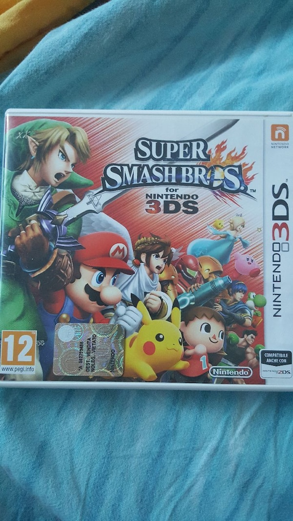Super Smash Bros. Nintendo 3DS caso