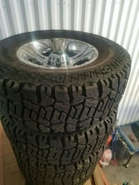 Xd 18 inch wheels and new tires Madera, 93637