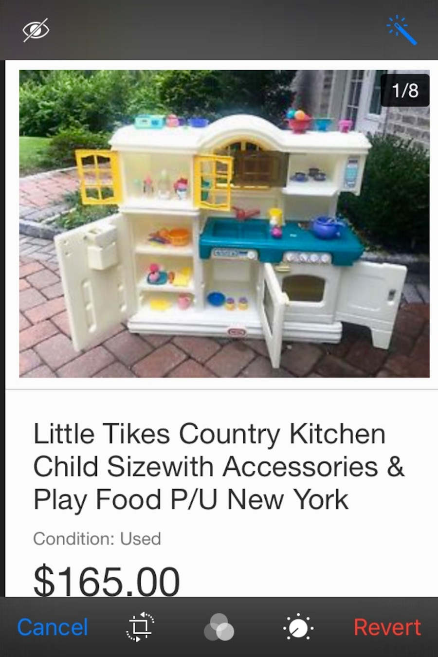 Used Rare Vintage Little Tikes Country Kitchen in Flintville