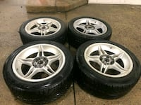 4 17 in 5x114.3 4x114.3 wheels rims and tires  Germantown, 20874