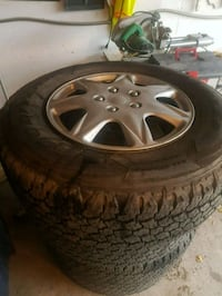 17 inch tires and rims   Toronto, M1S 2Z1