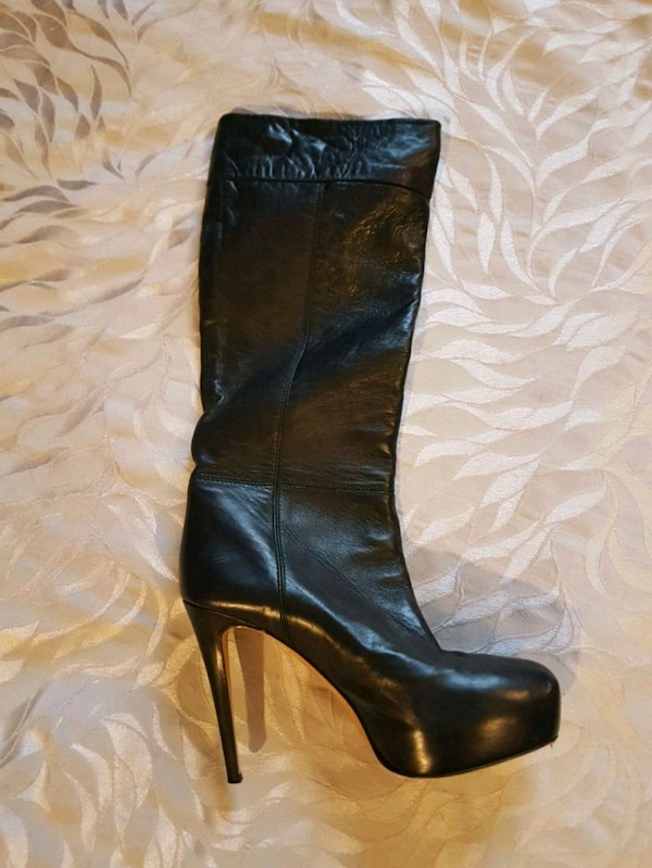 Brian Antwoord boots calfskin leather
