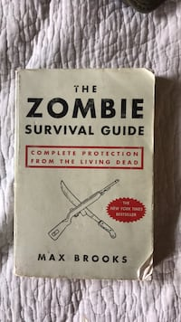 Zombie Survival Guide book Springfield, 22153