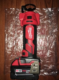 Milwaukee M18 Cut Out Tool (2627-20) with 4.0 Redlithium XC Battery Pack (no charger)  New York, 10453