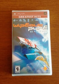 BRAND NEW, still sealed: PSP Wipeout Pure game