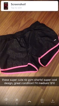 NB pink and black shorts  Minto, N0G 1Z0