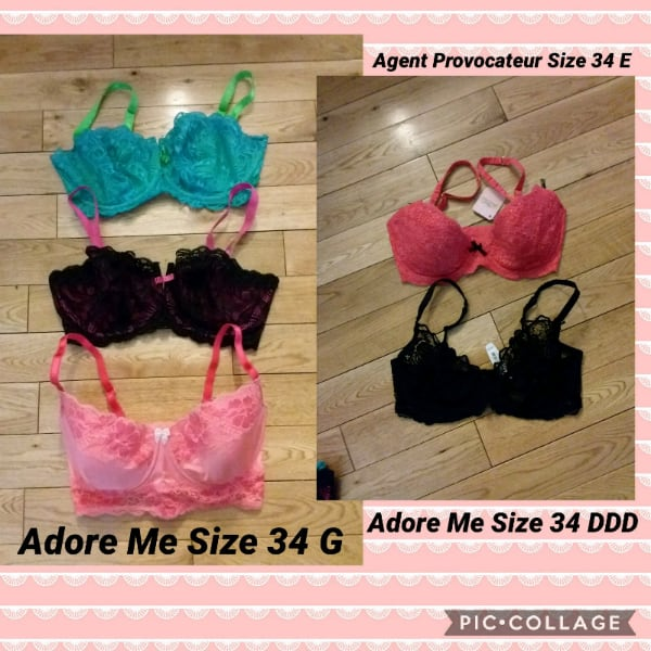 NEW - Adore Me Bras with Tags cf7acd93-4ca2-4d9e-a285-7818ae8c2edd