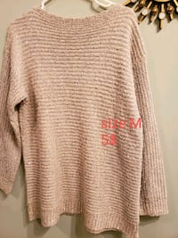women's brown knitted sweater Calgary, T3G 4A9