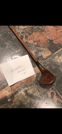 Antique golf club