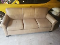 Tan Leather Couch Manassas