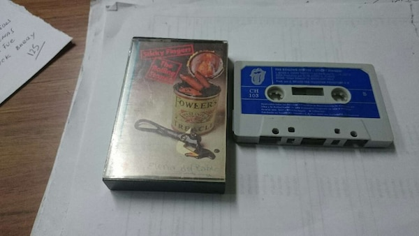 CINTA CASSETTE THE ROLLING STONES STICKY FINGERS
