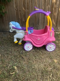Little tikes horse and carriage  Bryan, 77802