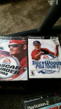Ps2 and 17 games  800 mi