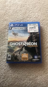 Ghost Recon PS4 Game Mount Airy, 21771
