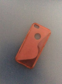 coque iPhone orange