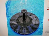 Floating pool fountain  Lake Country