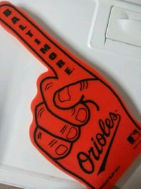 Baltimore Orioles foam finger
